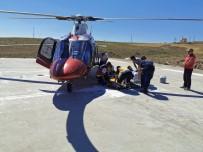 Kalça Kemiği Kırılan Vatandaşın İmdadına Hava Ambulansı Yetişti