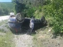 Kastamonu'da Otomobil Takla Attı Açıklaması 4 Yaralı