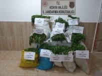 Konya'da 90 Kilo Kubar Esrar Ele Geçirildi