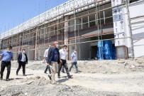 Meram'da Harmancık Kapalı Pazar Yeri Ve Sosyal Tesisi İçin Geri Sayım Başladı