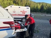Kanyonda Yaralanan Dağcı Helikopterle Hastaneye Kaldırıldı