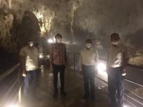 Vali Atay, Sarıkaya Mağarasını İnceledi
