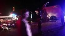 Antalya-Konya Yolunda Feci Kaza Açıklaması 2 Ölü, 4 Yaralı