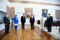 Başkan Kale'den Bakan Koca'ya Ziyaret