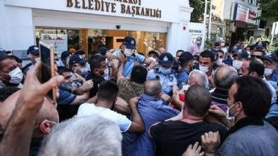 CHP'li belediyeye esnaf tepki gösterdi!