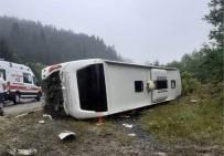 Kastamonu'da Otobüs Kazasında 14 Kişi Yaralandı