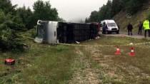Kastamonu'da Yolcu Otobüsü Devrildi Açıklaması 13 Yaralı