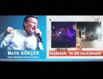 MELİH GÖKÇEK - Türkiye'de halkı ilk sokağa davet eden kişi Melih Gökçek'ti...
