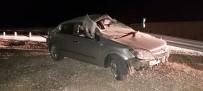 Yoldan Çıkan Otomobil Takla Attı Açıklaması 1 Yaralı