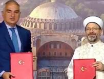 KÜLTÜR VE TURİZM BAKANI - Ayasofya için protokol imzalandı