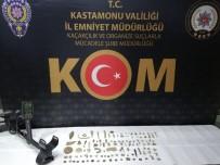 Kastamonu'da 103 Parça Tarihi Eser Ele Geçirildi