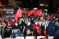 Taşova 'Demokrasi Nöbeti'nde Buluştu