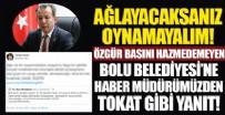 TÜRKER AKINCI - CHP'li Bolu Belediyesi'nin hakaretlerine Türker Akıncı'dan tokat gibi yanıt!