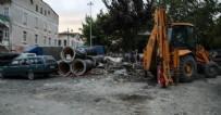 KANALİZASYON - CHP belediyeciliği halkı isyan ettirdi! Koskoca şehri dağlık alana çevirdiler