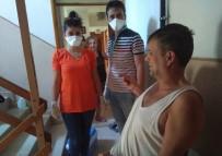 Erdek'te 'Çat Kapı' Korona Virüs Testi