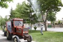 Meram Belediyesi İlaçlama Çalışmalarına Devam Ediyor