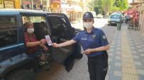 Polis Ekiplerinden Şiddete Karşı Broşür Dağıtıldı