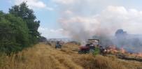 Bursa'da Korkutan Anız Yangını