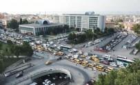 TOPLU ULAŞIM - Dolmuş şoförleri İBB önünde eylem yaptı