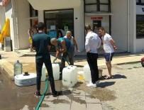 ESNAF ODASI - Foça'daki su sorunu vatandaşı canından bezdirdi