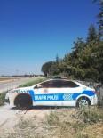 Magandalar Maket Polis Arabasını Yaktı