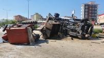 Kastamonu'da Kamyon İle Traktör Çarpışarak Devrildi Açıklaması 2 Yaralı