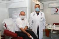 Bakan Öztürk'ten Kan Bağışı Kampanyasına Destek