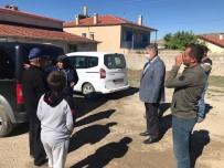 Başkan Altun'dan Ahırı Yanan Aileye Ziyaret
