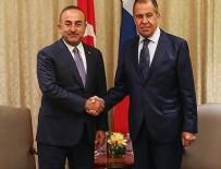 ERMENI - Bakan Çavuşoğlu Rus mevkidaşı ile görüştü!