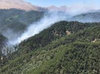 Kızıldağ'daki Orman Yangını Kontrol Altına Alındı