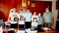Sarıgöl'de LGS'De Başarılı Öğrencilere Plaket