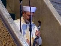 MİMAR SİNAN - Ayasofya Camii'nde ilk hutbe: Cuma hutbelerine neden kılıçla çıkılıyor?