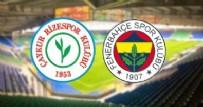 ÇAYKUR RİZESPOR - Fenerbahçe - Çaykur Rizespor maçı başladı!