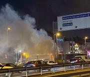 Küçükçekmece'de Metrobüste Korkutan Yangın