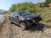 Tunceli'de İki Ayrı Kaza Açıklaması 2'Si Ağır 8 Yaralı