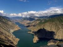 ÇORUH NEHRİ - Çoruh Nehri'nin etkileyici görünümü