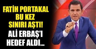 Fatih Portakal'dan tepki çeken çıkış