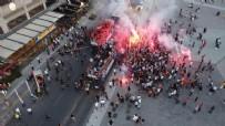 MEDİPOL BAŞAKŞEHİR - İşte Medipol Başakşehir'in şampiyonluk sevinci