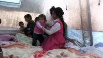 Ağrı'da Yağışlardan Evleri Hasar Gören Aileye Yaşam Konteyneri Tahsis Edildi
