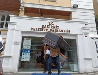 BAKIRKÖY BELEDİYESİ - CHP'li belediyeye haciz şoku!