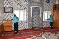 İnönü Camilerinde Bayram Temizliği
