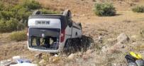 Tunceli'de Trafik Kazası Açıklaması 9 Yaralı
