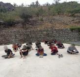 Yasadışı Yollardan Türkiye'ye Giriş Yapan 34 Yabancı Uyruklu Şahıs Yakalandı