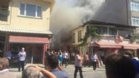 YANGINA MÜDAHALE - Sakarya'da yangın... Mahalleli sokağa döküldü