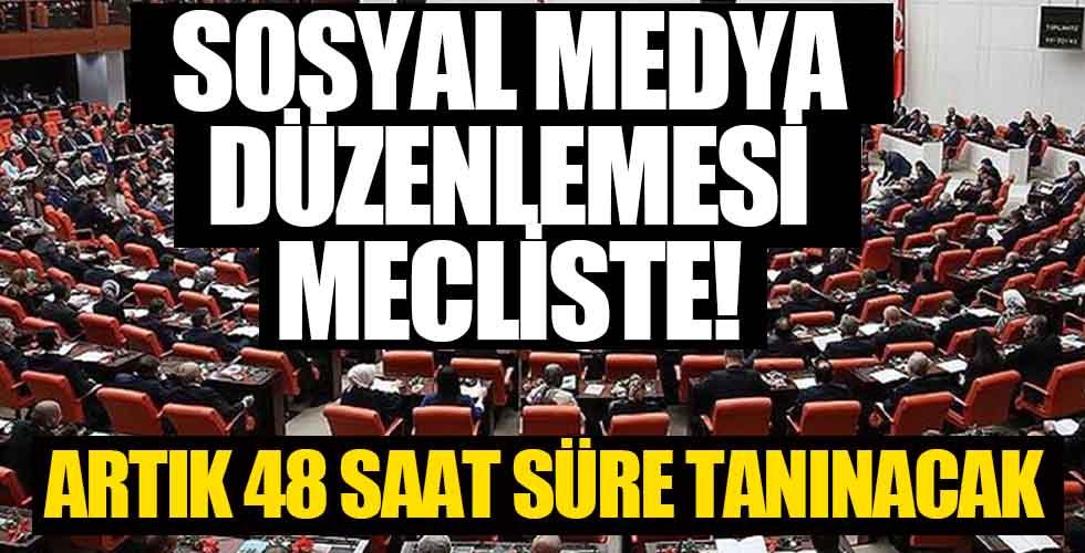 Sosyal Medya düzenlemesi mecliste!