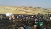 Yangında Traktörünü Kurtarmak İsterken Hayatını Kaybetti
