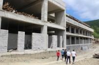 Cide Devlet Hastanesinin Kaba İnşaatı Tamamlandı