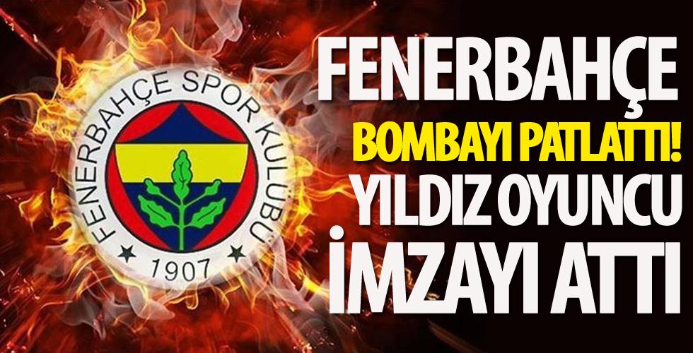 Fenerbahçe'den transfer bombası! 3 yıllık imza