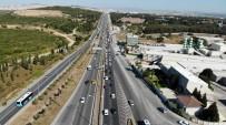 İstanbul Çıkışında Bayram Öncesi Trafik Yoğunluğu Başladı