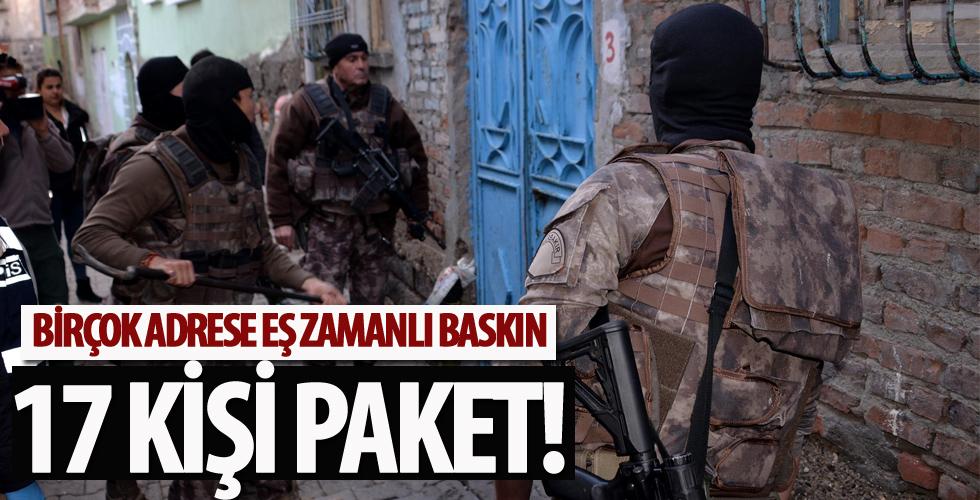 İstanbul'da düğmeye basıldı! Birçok adrese eş zamanlı baskın